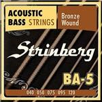 Encordoamento para Baixolão 5 Cordas Strinberg BA-5