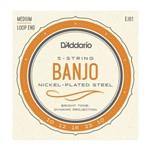 Encordoamento para Banjo 5C D'Addario EJ61