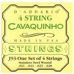 Encordoamento para Cavaquinho D'Addario J93 (.011-.028)