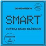 Encordoamento para Contra Baixo 4 Cordas Smart Niquel 045