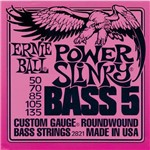Encordoamento para Contra-Baixo 5 Cordas Ernie Ball Power Slinky (.050-.135) 2821