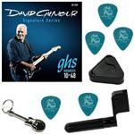 Encordoamento para Guitarra 010 048 GHS David Gilmour GB-DGF + Acessórios IZ1