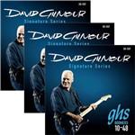 Encordoamento para Guitarra 010 048 GHS David Gilmour Signature GB-DGF - Kit C/3