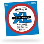 Encordoamento para Guitarra Exl145 0.12 D`Addario