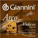 Encordoamento para Viola de Arco Giannini Geavoa