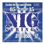Encordoamento para Violão 12 Cordas NIG N-510 (.010-.050) Bronze