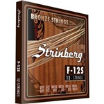 Encordoamento para Violão 12 Cordas Strinberg F 12s