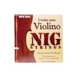 Encordoamento para Violino Nig NVE804