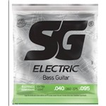 Encordoamento Sg para Baixo 4cordas 0.40-extra Light- Jogo de Cordas