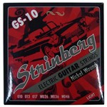 Encordoamento Strinberg Gs-10 para Guitarra