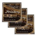 Encordoamento Strinberg WS-10 Violão Aço