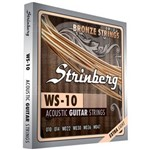 Encordoamento Strinberg Ws10 para Violão Aco Extra Light (.010-.047)