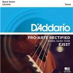 Encordoamento Ukulele Tenor D'Addario EJ53T Pro-Arté Rectified