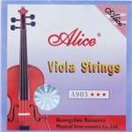 Encordoamento Viola Alice de Arco A903