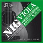 Encordoamento Viola Caipira Nig Npb570 Cebolão em Ré