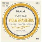Encordoamento Viola D Addario Mi Ej82c Brasileira