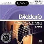 Encordoamento Violão 011 Daddario Aço Cordas Exp Exp13