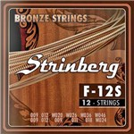 Encordoamento Violão 12 Cordas Strinberg F-12s