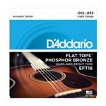 Encordoamento Violão D'Addario 0,12 EFT16