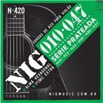 Encordoamento Violão N-420 Aço Nig