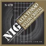 Encordoamento Violão Nig N-470 Nylon Cristal - Alta Tensão