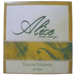 Encordoamento Violino Alice Série Strings A703a Níquel