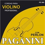 Encordoamento Violino Paganini Perlon