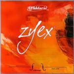 Encordoamento Violino - Zyex D'addario - 4/4 - Medium - Aço - Prata Ré - #3140.550.27-AV310S