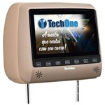 Tech One Encosto Cabeca Monitor S/ Dvd Bege Slim
