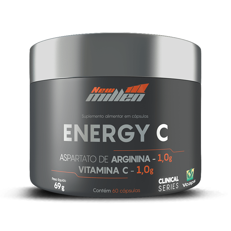 Energy C (60 Caps) - New Millen