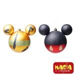 Enfeites de Natal Disney Bola Mickey e Pluto - Pack com 2 Bolas 10cm