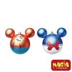Enfeites de Natal Disney Bola Pateta e Donald - Pack com 2 Bolas 10cm