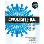 English File Pre-Intermediate Wb With Key And Ichecker - 3rd Ed