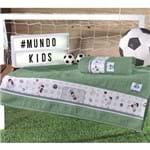 Enxovais Banho Infantil Toalha Rosto Altenburg -Mundo Kids e Gol