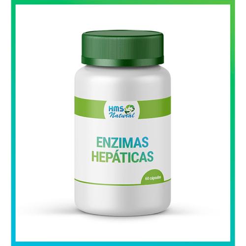 Enzimas Hepáticas Cápsulas Vegan 60cápsulas