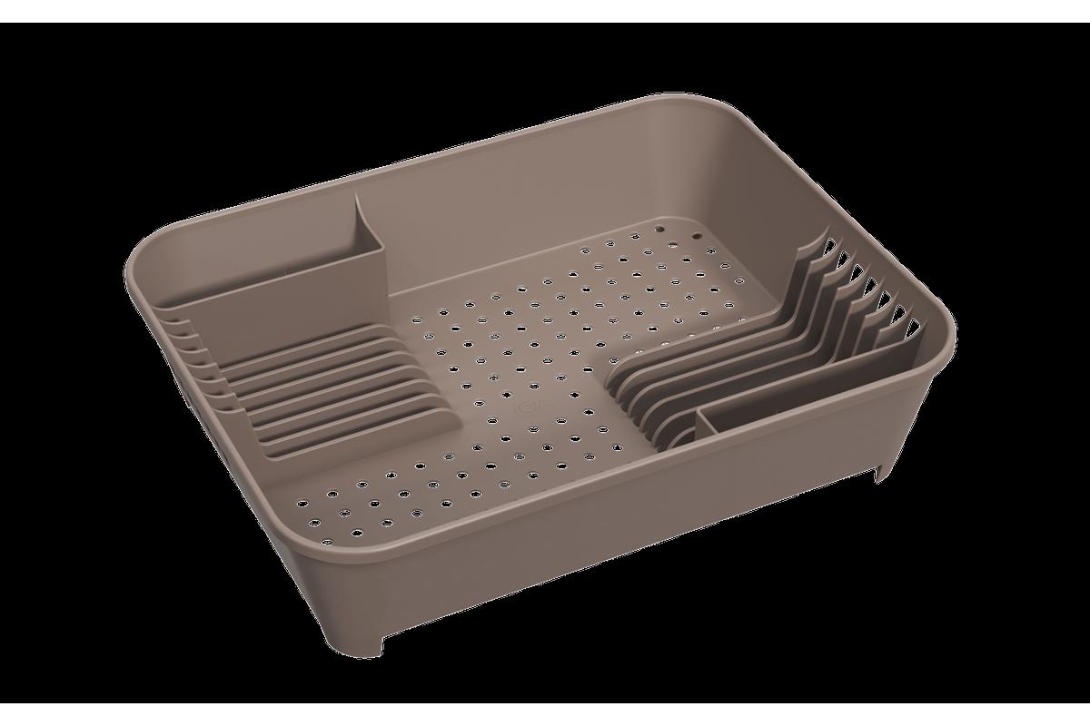 Escorredor de Louças Basic 14,5 X 35 X 10,5 Cm Warm Gray Coza