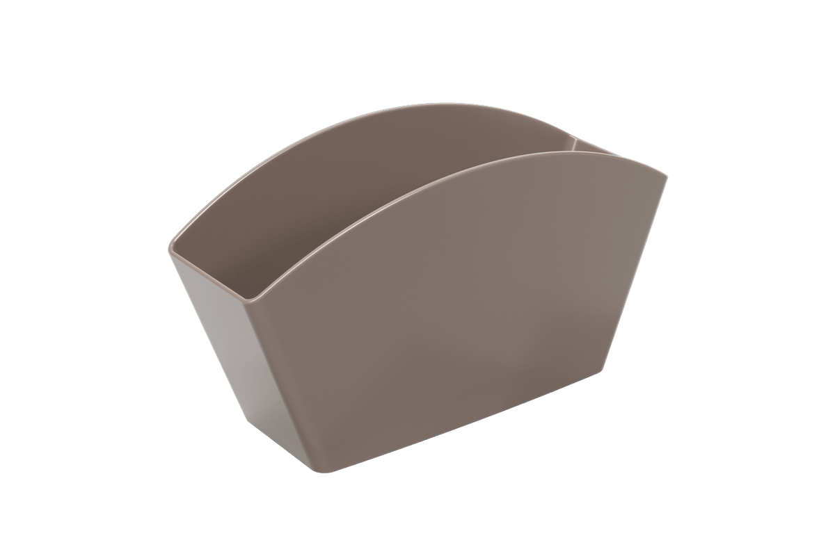 Escorredor de Talheres Basic 21,5 X 10,6 X 4,5 Cm Warm Gray Coza