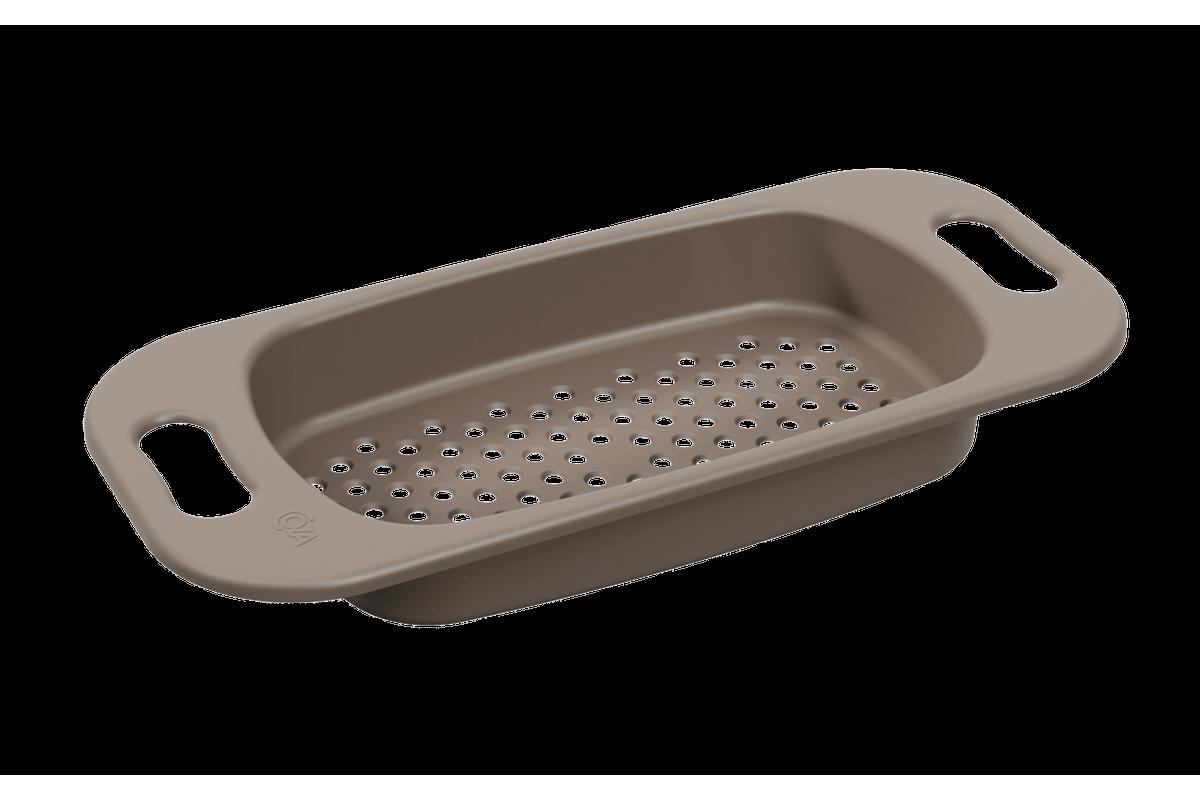 Escorredor para Pia Basic 47,2 X 21,2 X 6,3 Cm Warm Gray Coza