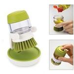 Escova com Dispenser para Sabão Líquido Basic Kitchen