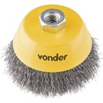 Escova de Aço Ondulada Tipo Copo 3 - Vonder