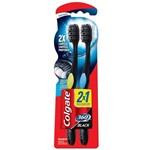 Escova Dental Colgate 360º Black Leve 2 e Pague 1 Unidade