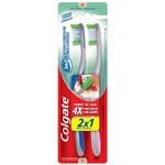 Escova Dental Colgate 360° Hálito Saudável Macia Leve 2 Pague 1