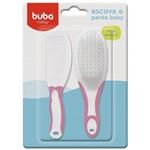 Escova e Pente Baby 5236 Buba - Rosa