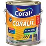 Esmalte Coralit Zero (base Dagua) Gelo 3,6 Gl