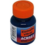 Esmalte Vitral Acrilex Azul 37ml