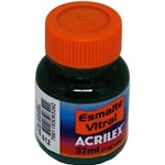 Esmalte Vitral Acrilex Verde Veronese 37ml