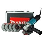 """Esmerilhadeira Angular 4.1/2"""" 840 Watts Rotação de 11.000 Rpm com Maleta- 9557HPGX2 - Makita"""