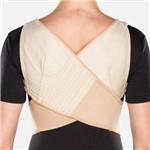 Espaldeira para Postura de Brim - Bege - Chantal - Cód: C334