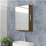 Espelheira para Banheiro Napoli Madeira Rústica - Móveis Bechara