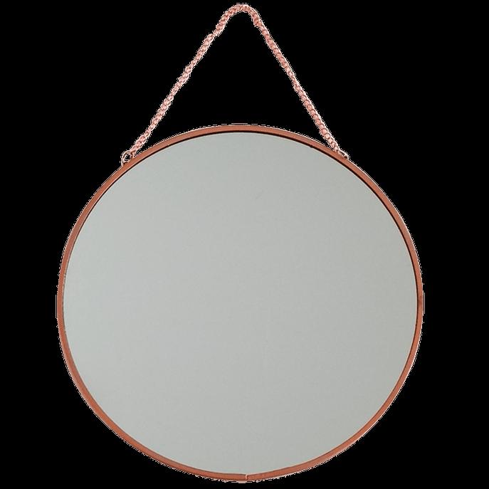 Espelho 20 Cm - Círculo Cobre